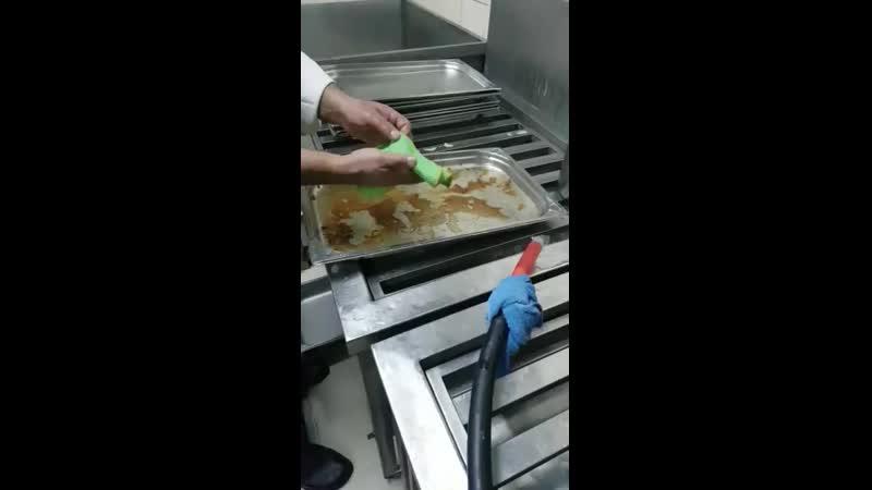 Салфеточка доя посуды против подгоревшего жира