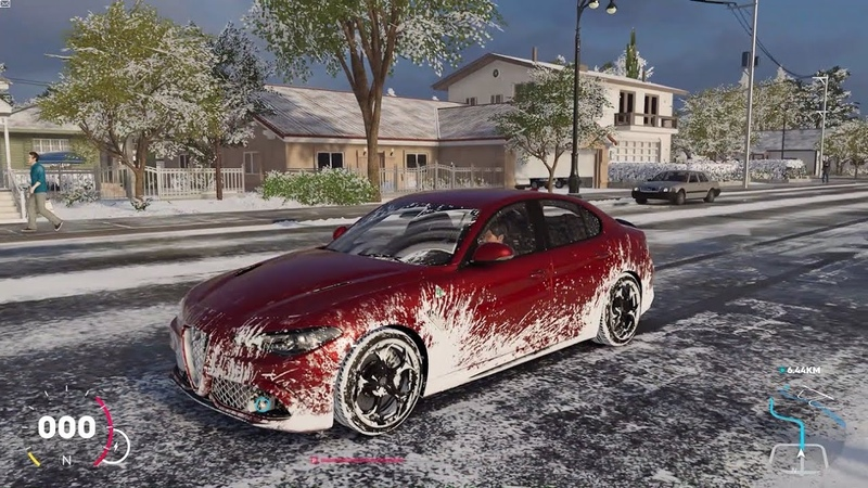 USA Roadtrip Part 6 The Crew 2 Alfa Romeo Giulia Quadrifoglio Fresno to Palm Springs
