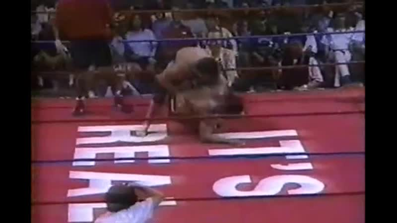 Don Frye vs Eric Valdez Submission choke Unified Shoot Wrestling Federation 5 Дон Фрай против Эрка Валдиза 11DeadFace