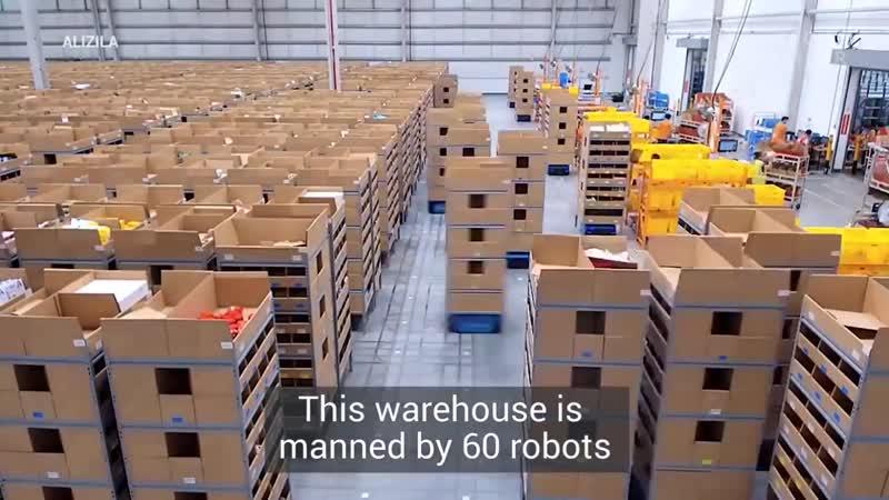 Роботы-кладовщики
