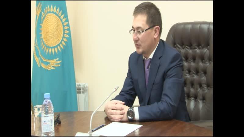 ТұранТүркістан Түркістан қаласының әкімі Р Аюповпен коронавирусқа байланысты сұхбаты