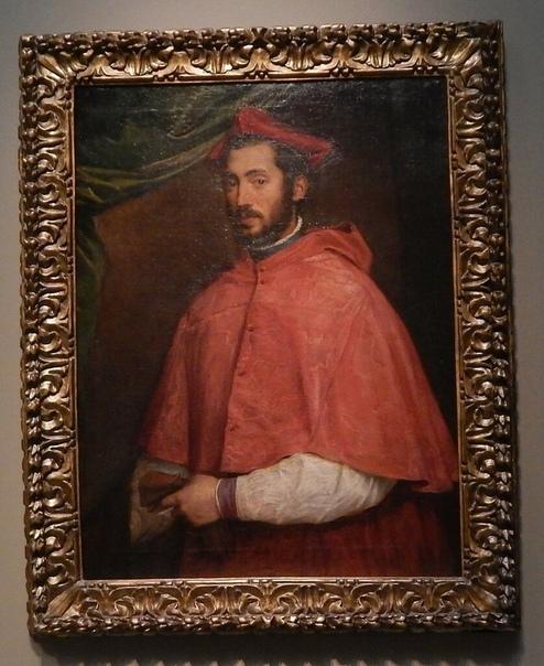 «Портрет Алессандро Фарнезе», Тициан