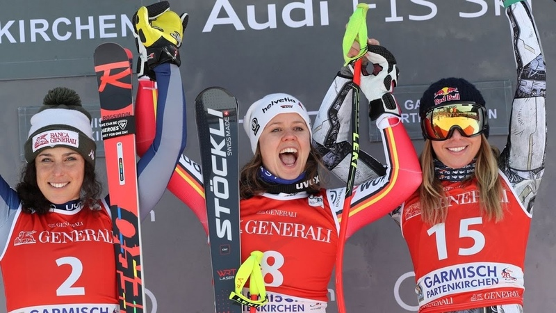 FIS Alpine Skiing World Cup Women's Downhill Garmisch Partenkirchen GER 2020