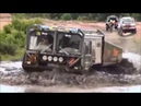 Volvo laplander 6x6 Unimog 4x4 MAN in mud and river rally