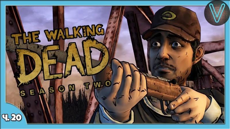 Меж двух огней! Эп. 20 Ходячие мертвецы The Walking Dead Season 2