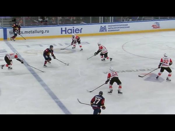 Viktor Antipin ties the game at one