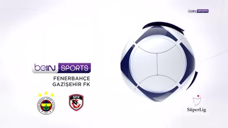 Fenerbahçe 5 - 0 Gazişehir Gaziantep FK Maç Özeti
