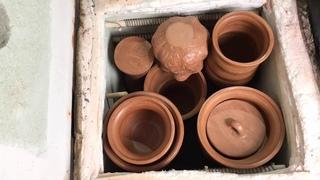 🍯 Как загружать печь на первый обжиг Обучение гончарству Волшебство керамики