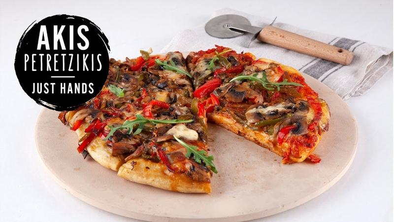 Cheesy Pan Pizza Akis Petretzikis