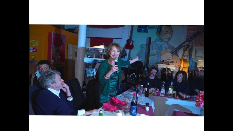 Nathalie Baye à la Chope des Puces.