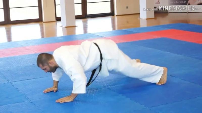 Types of push up by great kyokushin karate fighter lechi kurbanov