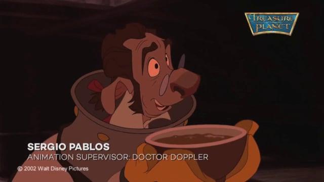 Treasure Planet Doctor Doppler Sergio Pablos Animation Supervisor