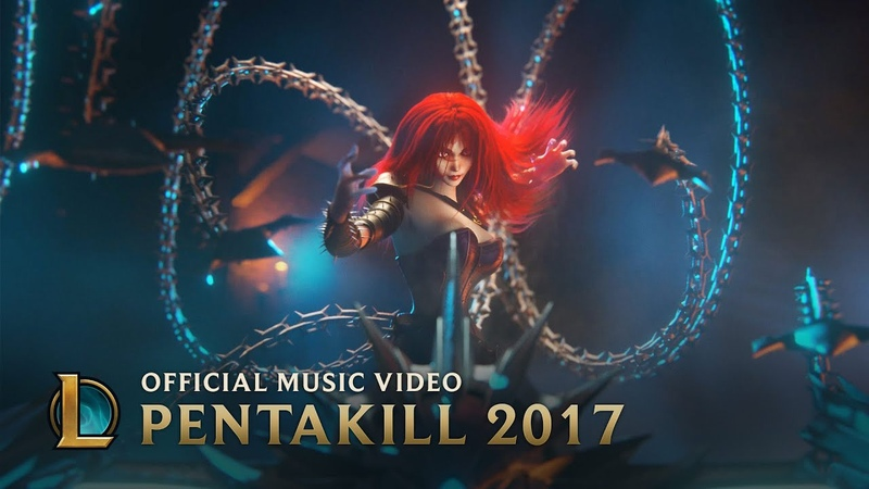 Pentakill Mortal Reminder Official Music Video League of Legends