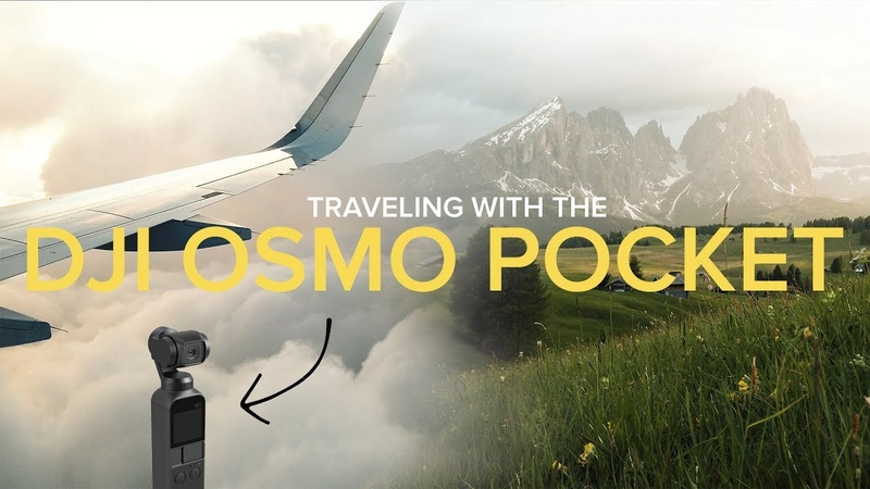 Travelling with the DJI Osmo Pocket (4K)