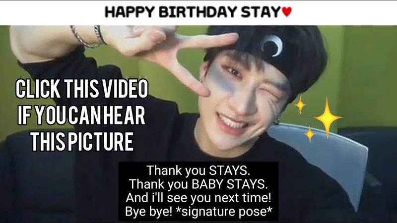 Stray kids bang chan thanking stay for watching chan's room until signature pose wink ep 1 66