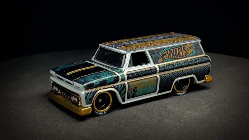 Lamley Preview The Incredible 3D Textures of the Hot Wheels Nationals '64 GMC Panel