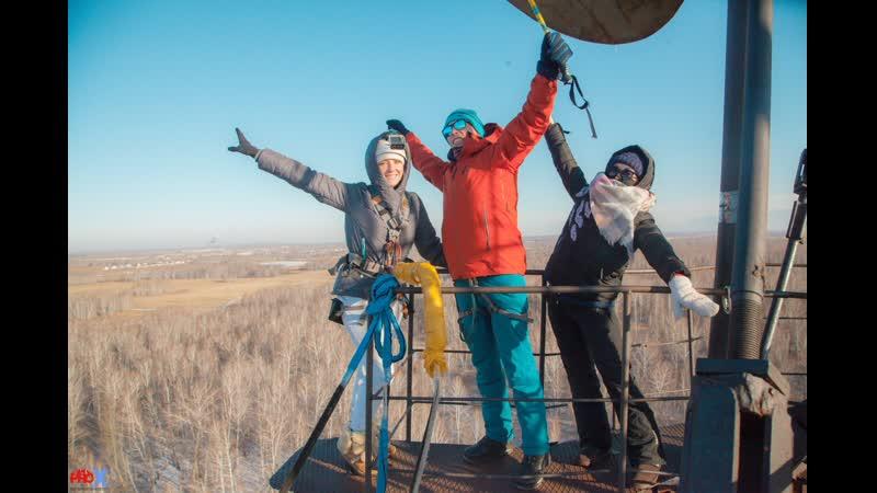 Mariya H. прыжок FreeFallProX команда ProX74 объект AT53 Chelyabinsk 2019 1 jump RopeJumping