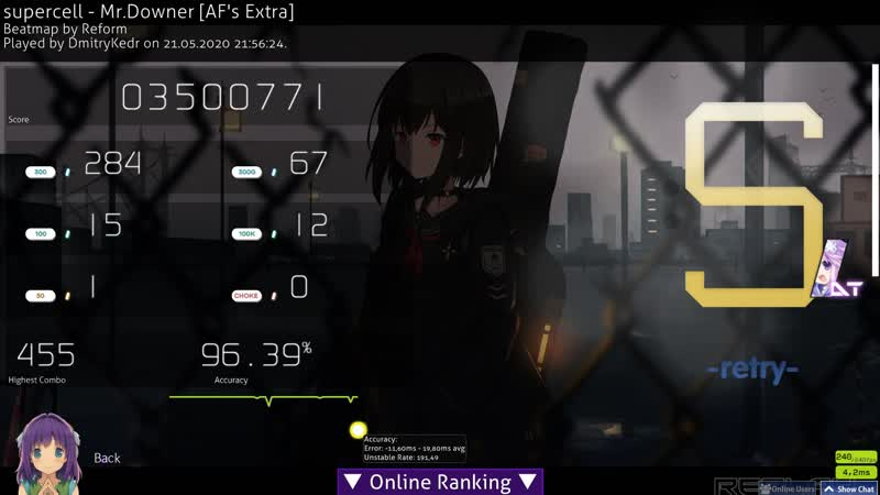 Supercell AF's Extra DT 408pp 1st 400 but unsubmitted