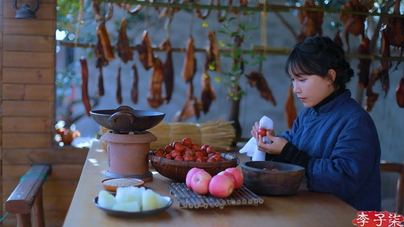 Peanut and melon seeds, dried meat, dried fruit, snowflake cake - snacks for Spring Festival|Liziqi