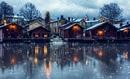 В часе езды от Хельсинки расположился очень милый и уютный городок Порвоо