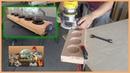 Como hacer un Portavasos en madera para vino o cerveza wine or beer paddle