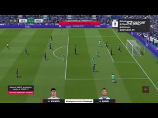 Победа Асенсио в финале турнира по FIFA 20 среди футболистов Ла Лиги
