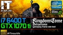 Kingdom Come Deliverance/I7 6400t/GTX 1070 ti/Gameplay/Frame Rate Test [1080p]