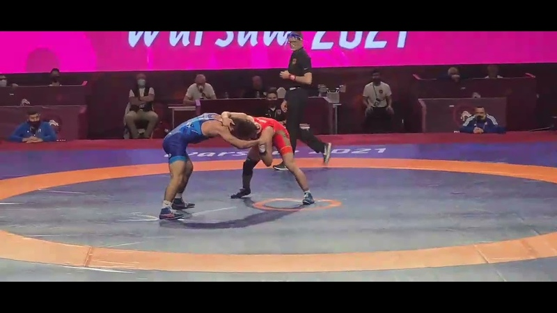 Разамбек Жамалов vs Таймураз Салказанов | Чемпионат Европы 2021