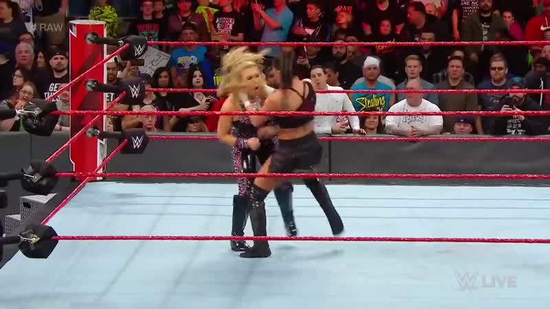 Ronda Rousey helps Natalya fend off Absolution- Raw, April 16, 2018.mp4