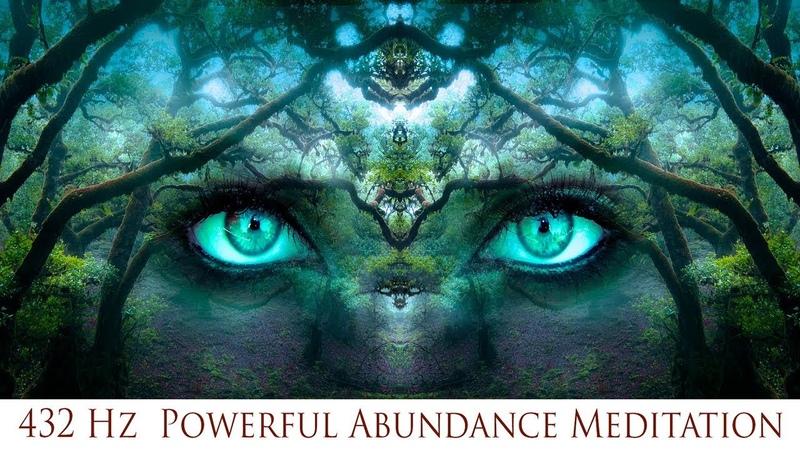 432 Hz Powerful Abundance Meditation Prosperity Luck Wealth Simply Hypnotic