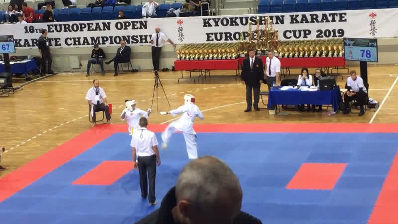 European cup 7.12.2019, Минск. Кабанова Соня