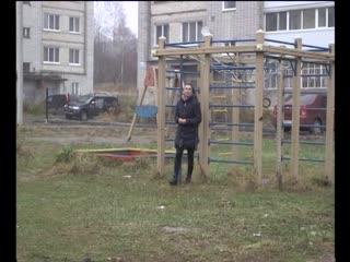 Ремонт двора поссорил жителей нескольких домов
