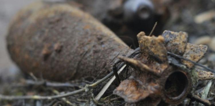 В Барановичах на подворье обнаружили осколок системы залпового огня