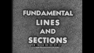 U.S. NAVY TRAINING FILM   SHIP HULL FUNDAMENTAL LINES & SECTIONS   SHIPBUILDING KEEL BLOCK 18224