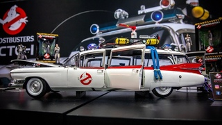 Ghostbusters Ecto-1 1/8 Scale Model Kit Preview