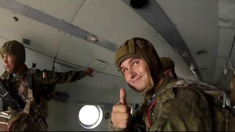 Отказник от прыжка с парашютом (11 гв одшбр Улан Удэ)