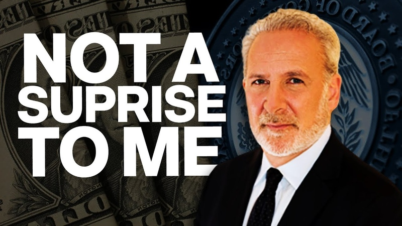 ALERT PETER SCHIFF : The Federal Reserve Slashes Interest Rates for 3rd Time,Not A Surpise To Me