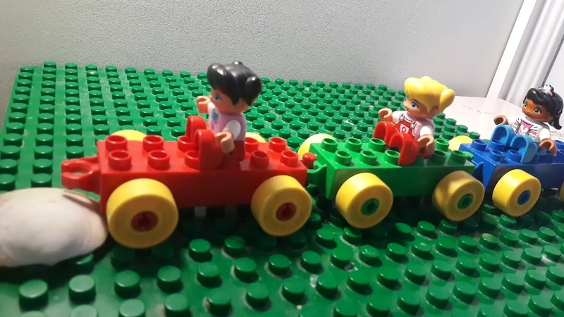 Lego Silent Movie The Discovery by Lisa Rogulenko 4 years old