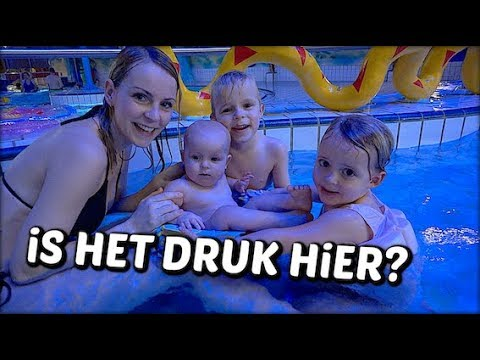 ALLEEN iN ZWEMBAD 😳 Bellinga Familie Vloggers 1240