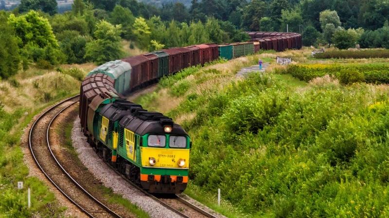 Pociągi na szerokim torze LHS lato 2016