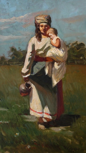 Картинки мать казачка