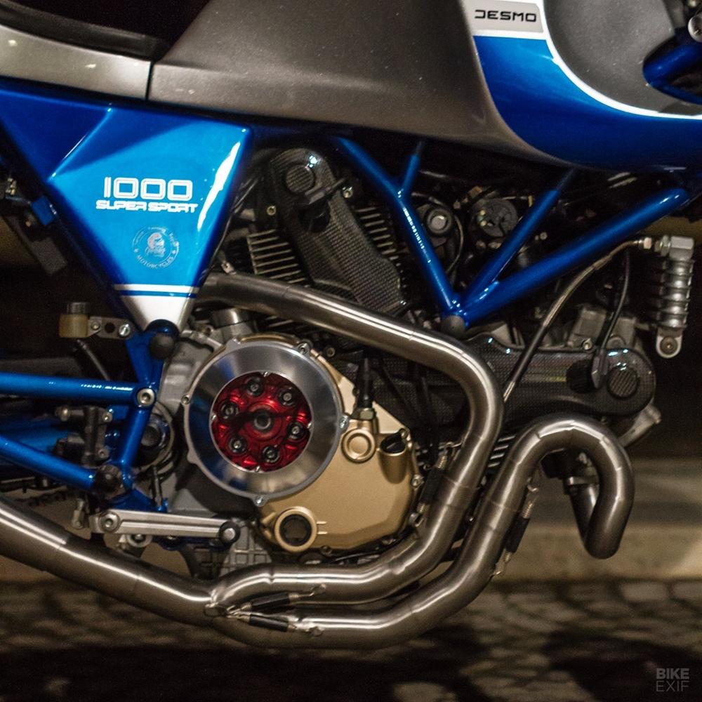 Greaser Garage: кафе рейсер Ducati Sportclassic GT1000