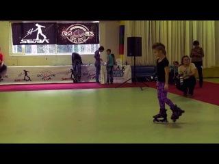 Rollerclub Cup 2013 Богданова Софья, 1 е место