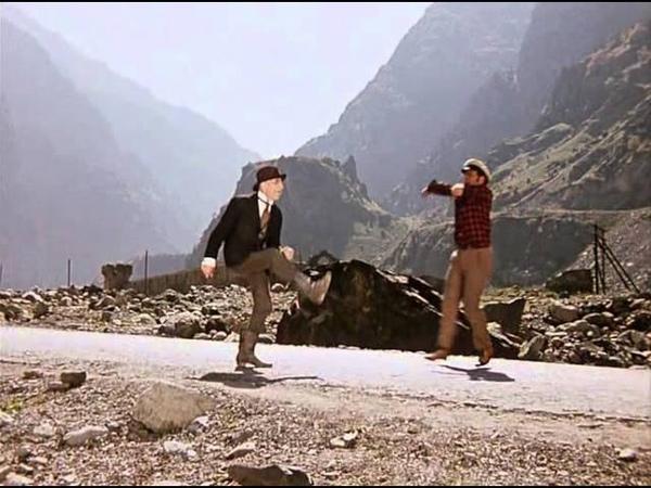 Альпийское нищенство Святое дело из кинофильма Двенадцать стульев