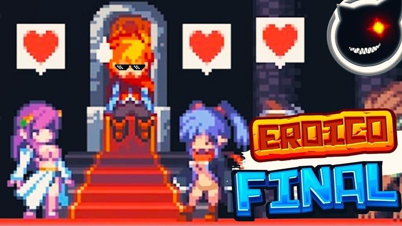 2D Pixel platformer Eroico LEVEL 3 Completed