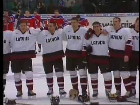 Pasaules čempionāts hokejā 2000 Latvija Krievija pilna spēle