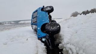 Съездили на рыбалку ... Нива 4х4 угодила в ледяную ловушку. RC OFFroad 4x4