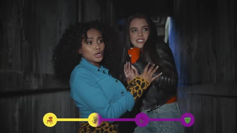 Лилимар и Даниелла Перкинс посетили Дом с призраками | Часть 2 | Nickelodeon