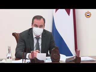 Врио Главы РМ провел заседание оперштаба по профилактике и контролю за распространением коронавируса