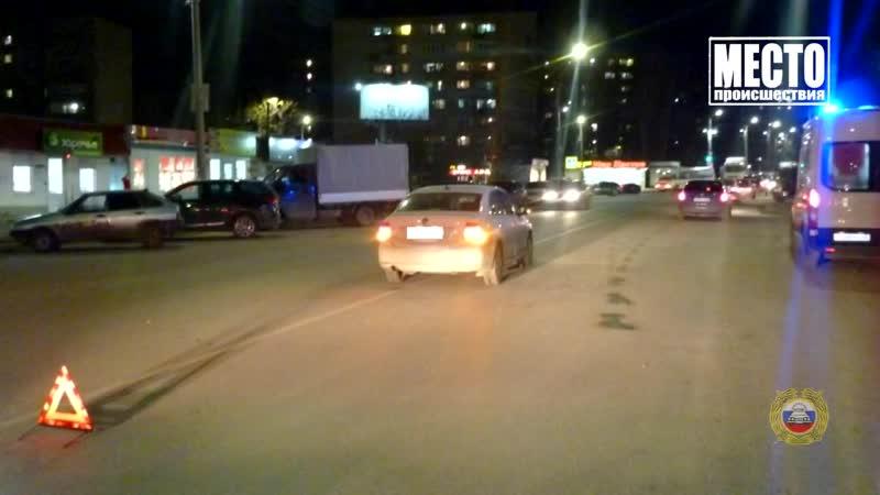 Обзор аварий Дэу и ГАЗ два пострадавших в Слободском районе Место происшествия 29 10 2020